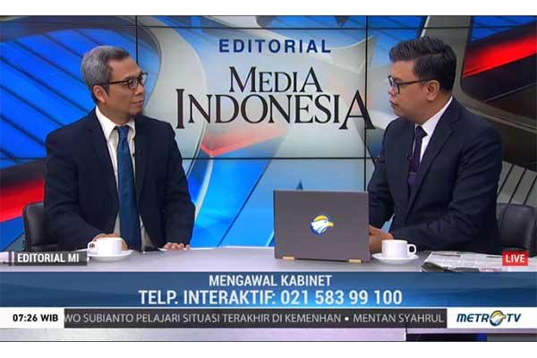 Bedah Editorial MI: Mengawal Kabinet Indonesia Maju