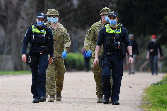 オーストラリアは、ビクトリア州に500人の軍人を配置