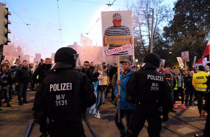 Jerman Larang Aksi Demonstrasi di Luar Gedung Parlemen