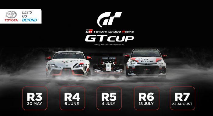 TAM Luncurkan Balap Virtual Toyota Gazoo Racing GT Cup 2021